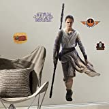 RoomMates RMK3149GM Star Wars EP VII Rey P and S Giant Wall Decal, 28.6-Inch Wide X 55-Inch High