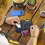 Slim Minimalist Design Travel Neck Wallet, RFID