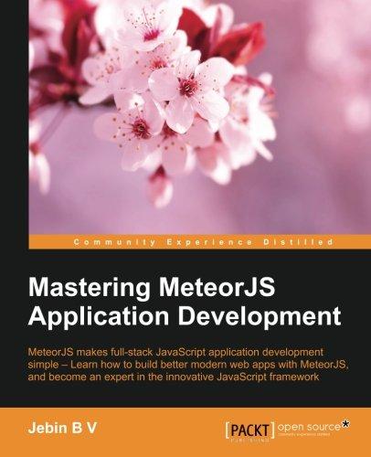Read Online Mastering MeteorJS Application Development PDF