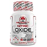 Nitric Oxide Supplement NO2 132 Capsules Pre-Workout Supplements for Men – L-Arginine Keto Pills Nitrous Booster L Citrulline Stamina, Endurance, Recovery Muscle Support