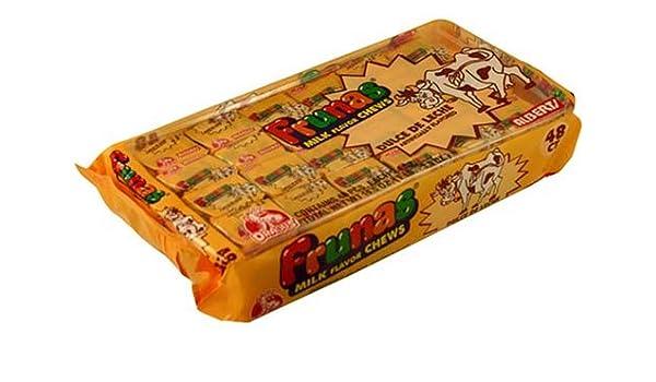 Amazon.com : Frunas Fruit Chews Dulce de Leche 48 Pack : Candy : Grocery & Gourmet Food