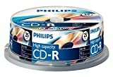 Philips Cd-R Cr8D8Nb25 - Blank Cds