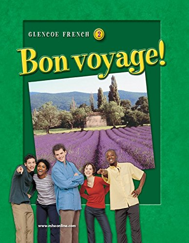 French 2 Student Activities (Bon voyage! Level 2, Workbook and Audio Activities (GLENCOE FRENCH))