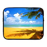 Fashion Laptop Sleeve Case Tropical Pants Summer Beach Computer Storage Bag Portable Protective Bag Briefcase Sleeve Bags Cover For Macbook/Ultrabook/Notebook/Laptop