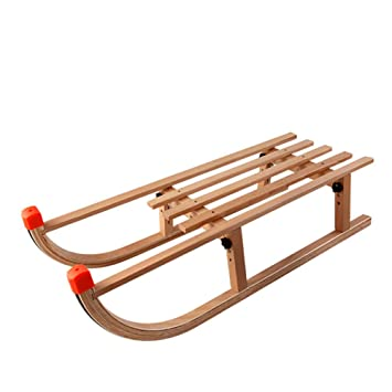 Amazoncom Hechen Wooden Sled Long 90cm Wide 38cm High 27cm
