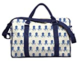 Watercolor Optopus Printed Oversized Canvas Duffle Luggage Travel Bag WAS_42 For Sale