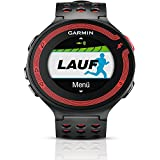 Garmin Forerunner 220 Black/Red GPS Running Watch with HRM Heart Rate Monitor (010-01147-40)