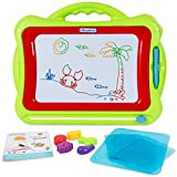 ANTAPRCIS Magnetic Drawing Board with Stampers, Magna Doodles Etch Sketch Doodles Sketching Pad