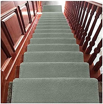 CARPET H- Alfombra de Escalera Alfombras para Escaleras 24x65cm 18mm Shaggy Step Pads Escaleras Antideslizantes (Color : F, Size : 20 Pieces Set): Amazon.es: Hogar