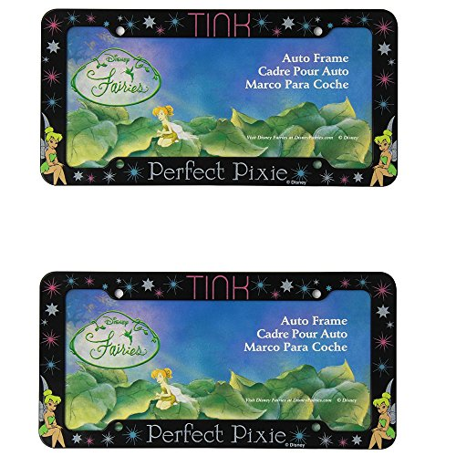 Walt Disney Tinkerbell Tink Car Auto SUV RV Pair of License Plate Frames