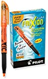 Pilot FriXion Light Erasable Highlighters Chisel Point Orange Dozen Box; Make Mistakes Disappear, Too Much, Uneven, or The Wrong Color Highlighted? No Stress with America's #1 Selling Pen Brand