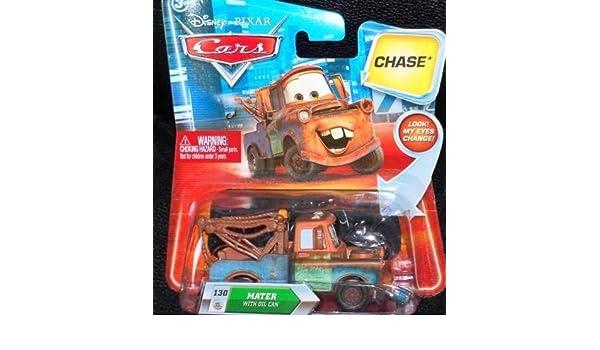Cars T0735 - Vehículos en Miniatura - Coche - Ojos Lenticulares - Rayo McQueen con la pala [Importado de Francia]: Amazon.es: Juguetes y juegos