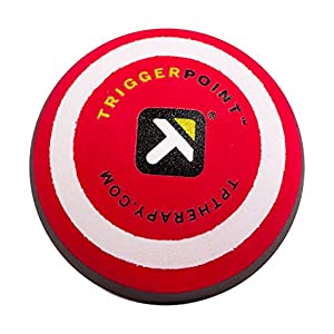 TRIGGERPOINT Unisex's MBX, Deep Tissue, Massage Ball for Back, Red, White and Black, 2.6''/5cm 28