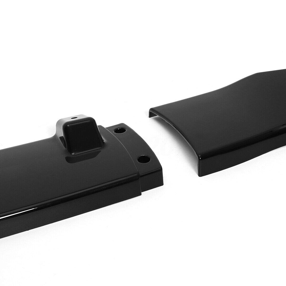 Black MotorFansClub 3pcs Front Bumper Lip Splitter for Ford Fusion Mondeo 2013-2016 Trim Protection Splitter Spoiler