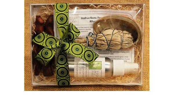Amazon com: Sage Cleansing - Housewarming Gift Kit (Sage