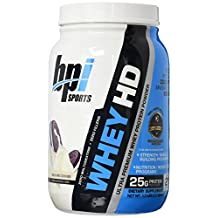 BPI Sports Whey HD Ultra Premium Protein Powder, Milk and Cookies, 1.7 Pound