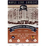 Toronto Maple Leafs Gardens Final Ticket - Bobby Hull & Johnny Bower