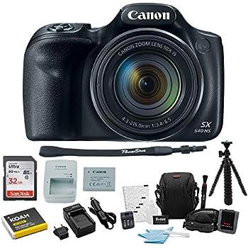 Amazon.com : Canon PowerShot SX540 HS Digital Camera + 2X ...