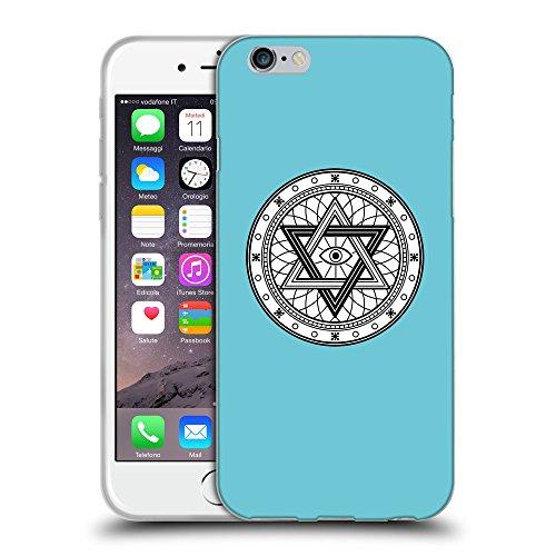GoGoMobile Coque de Protection TPU Silicone Case pour // Q09770627 Mystique occulte 26 Cyan // Apple iPhone 7
