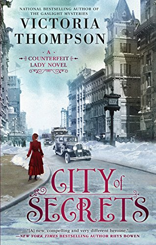 City of Secrets (A Counterfeit Lady Novel Book 2) by [Thompson, Victoria]
