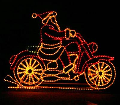 Animated Outdoor Christmas Light Displays in US - 6