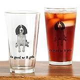 CafePress - Good Springer Spaniel Pint Glass - Pint Glass, 16 oz. Drinking Glass