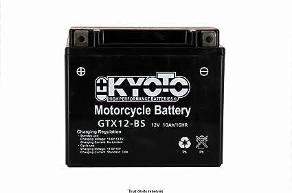 Kyoto Motorrad Batterie Ytx12 Bs Gtx12 Bs 12v 10ah Auto