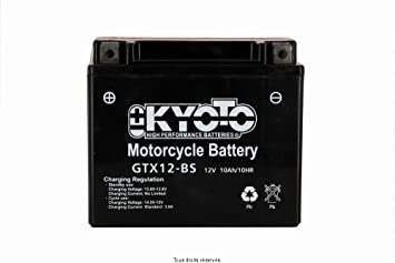 batterie moto kyoto ytx12-bs