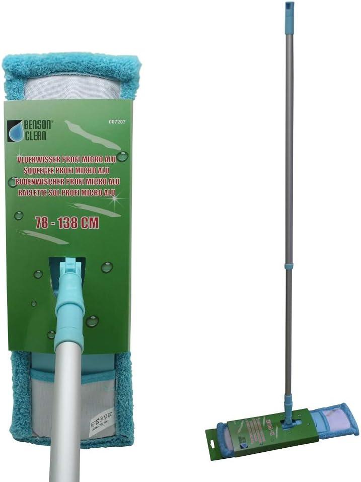 balai nettoyant sol Support pliable Balai serpill/ère Balai avec chiffon en microfibre