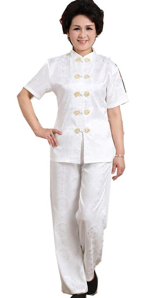 Shanghai Story Short Sleeve Tai Chi Uniform Chinese Traditional Clothing WNSC758