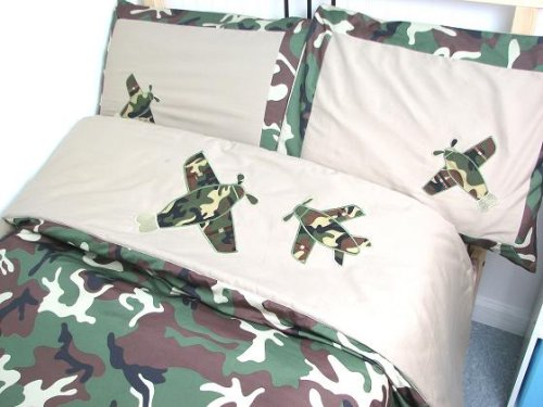 Amazon.com: Camouflage Army Boy Twin Kids Childrens Bedding Set 5 PcsDeal  Specal !: Home U0026 Kitchen