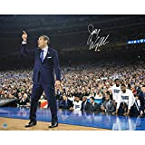 Steiner Sports Jay Wright Signed Sideline Point 2016 National Championship Game 16x20 Photo