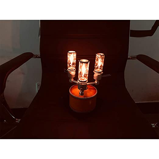 Yiwa Gas Camping Linterna Equipo de Campamento Luces de Velas ...