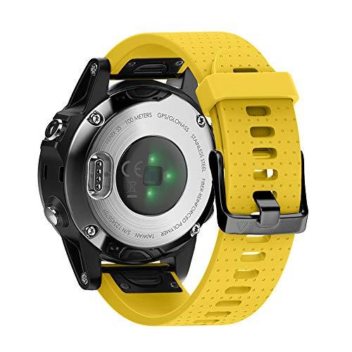 NotoCity Reservearmband compatibel met Garmin Fenix 5s armband voor Fenix 5s / Fenix 5s Plus / Fenix 6s / Fenix 6s Pro…