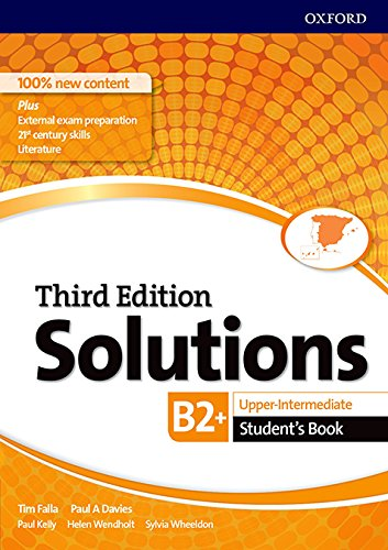 Solutions Upper-Intermediate. Student's Book 3rd Edition - 9780194523660 (Solutions Third Edition)