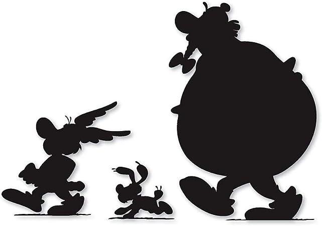 Stickers Dessin Anime Asterix Et Obelix Disney Appliques