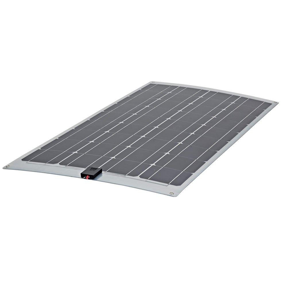 Biard 60W Solarpanel Photovoltaik Solarmodul - Monokristalline Solarzellen - Zum Aufladen von 12V Batterien in Wohnmobilen - Optimal für Unebene Oberflächen - Mit 75cm Kabel & MC-4 Anschlüssen