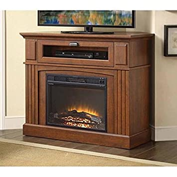 Amazon.com: Sumner Corner Media Electric Fireplace and TV Stand ...