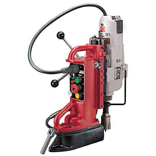 1 Electromagnetic Drill Press - Milwaukee 4208-1 12.5 Amp Electromagnetic Drill Press with 1-1/4-Inch Motor and No. 3 Morse Taper