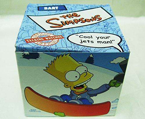 bart-simpson-talking-lcd-watch-cool-you-jets-man-2002-burger-king-new-in-box