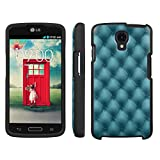 Mobiflare, Slim Guard Armor Design Case, for [LG Volt LS740] - Teal Leather Quilt