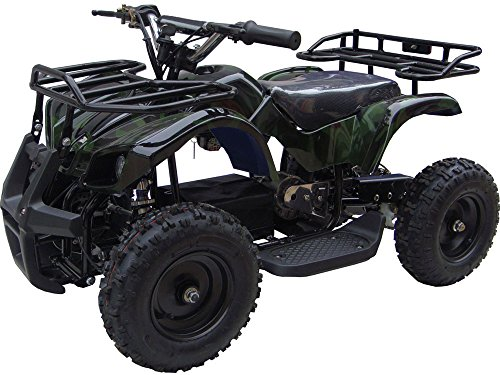 Outdoor Kids Children Sonora 24V Camo Mini Quad ATV Dirt Motor Bike Electric Battery Powered