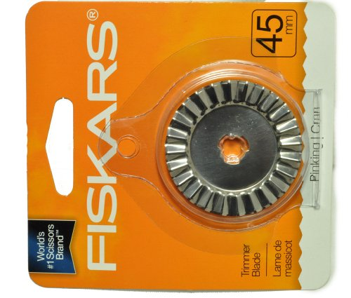 Fiskars 45mm Rotary Pinking Blade Replacement by Fiskars