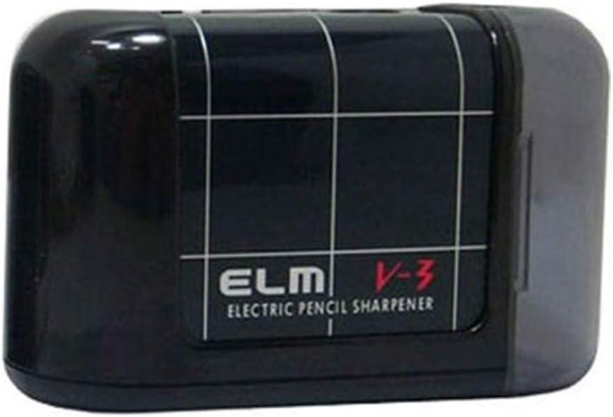 ELM Hall Inexpensive Art portable electric - Dealing full price reduction sharpener Black pencil