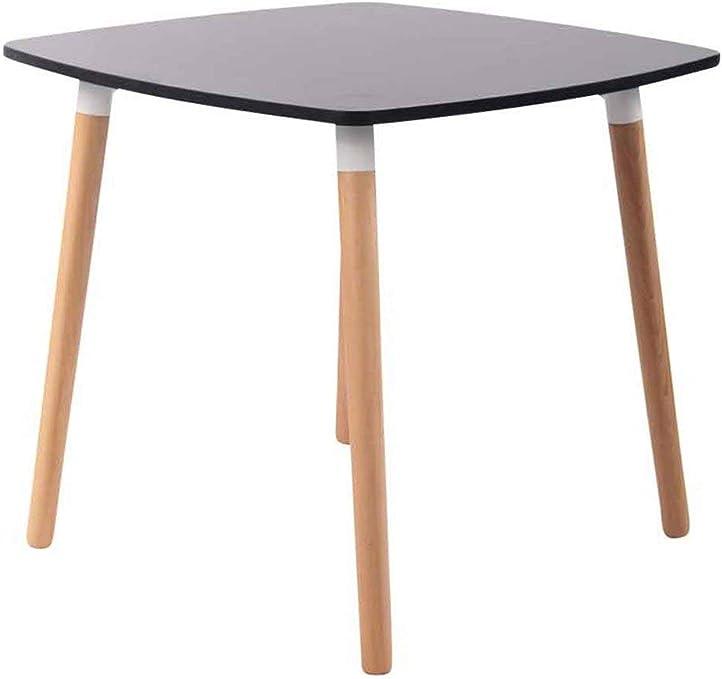 Décoshop26 Table De Cuisine Table D Appoint En Bois Couleur