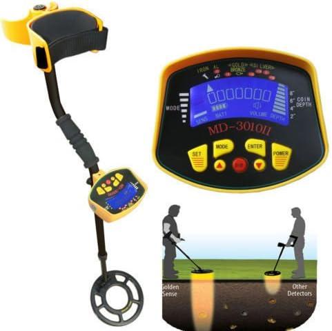 MD-3010II Metal Detector Gold Digger Hunter Deep Sensitive Search LCD Waterproof