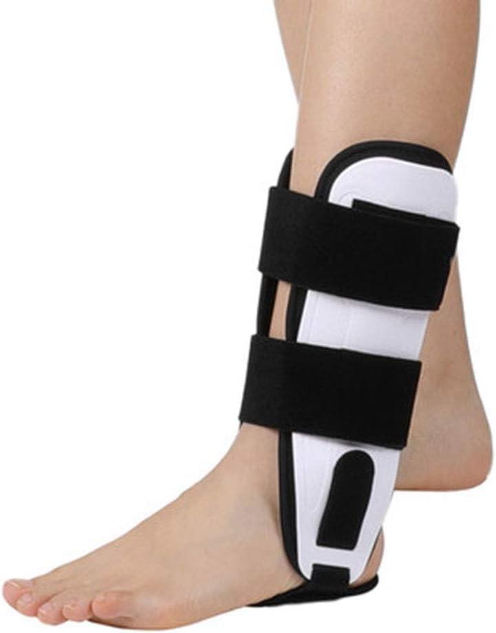 JL Apoyo de la Gota del pie Envoltura de FéRula OrtopéDica Ajustable Suave Transpirable Esguince Fijo Equipo de ProteccióN