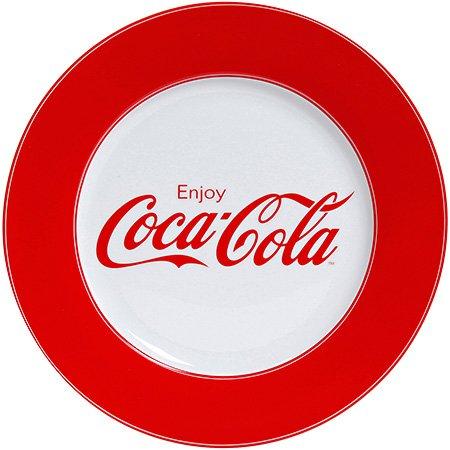 Ceramic Coca-Cola Enjoy Dinner Plate