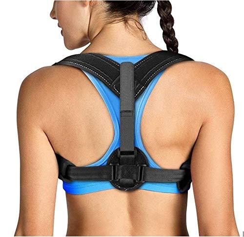 Tomight Back Posture Corrector for Women Men, Adjustable Back Brace Perfect for Spinal Support, Improving Posture, Relief Neck/Upper Back/Shoulder Pain