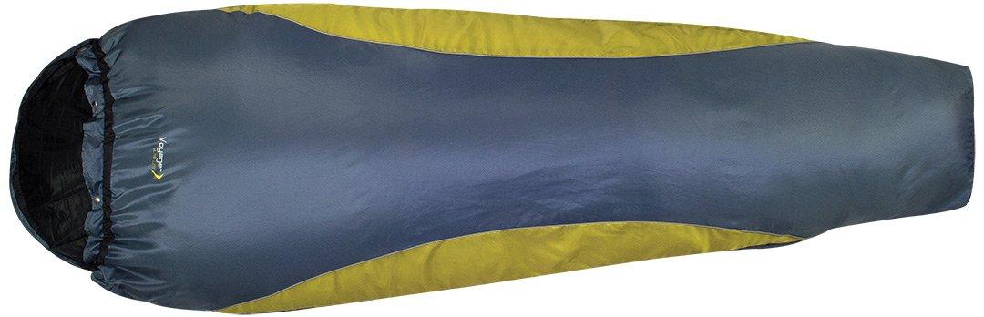 Highlander SB056 Voyager Ultra Compact Lite - Saco de dormir para adultos, color gris y verde: Amazon.es: Deportes y aire libre